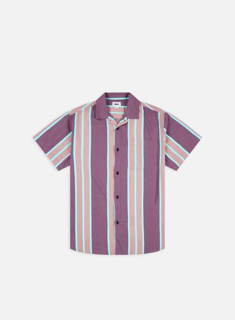 Short Sleeve Shirts Obey Fiction Woven SS Shirt