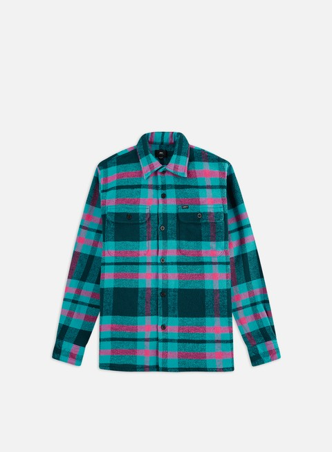 Camicie a Manica Lunga Obey Fitzgerald Woven Shirt