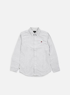 Obey - Glenn LS Woven Shirt, Black/Multi 1