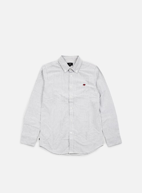 Long Sleeve Shirts Obey Glenn LS Woven Shirt