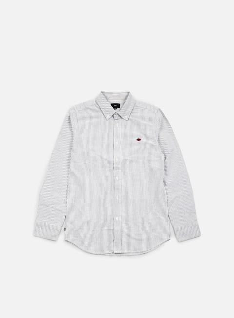 camicie obey glenn ls woven shirt black multi