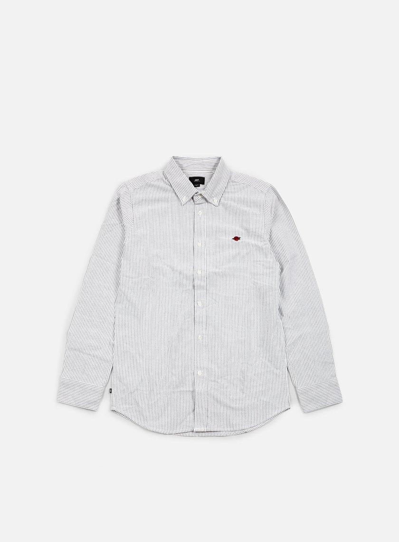 Obey - Glenn LS Woven Shirt, Black/Multi