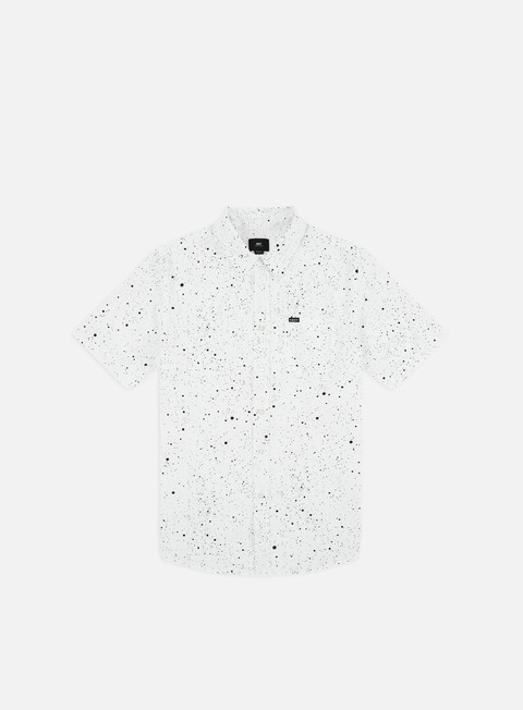 Sale Outlet Short Sleeve Shirts Obey Hanover Woven SS Shirt