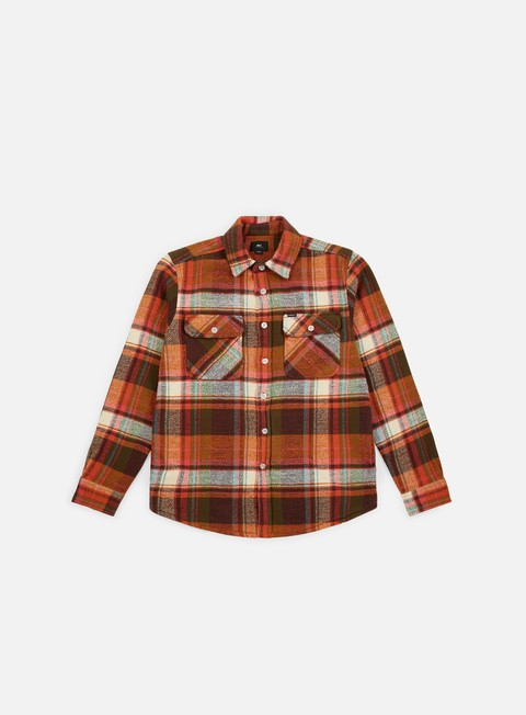 Camicie a Manica Lunga Obey Homebound Woven LS Shirt