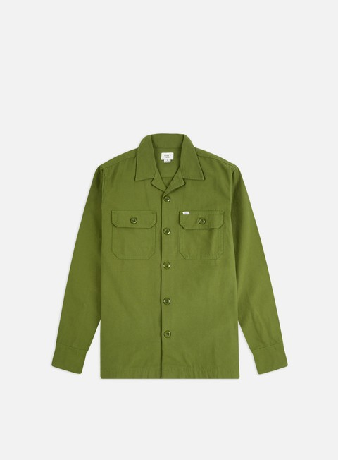 Long Sleeve Shirts Obey Ideals Organic Field Woven LS Shirt