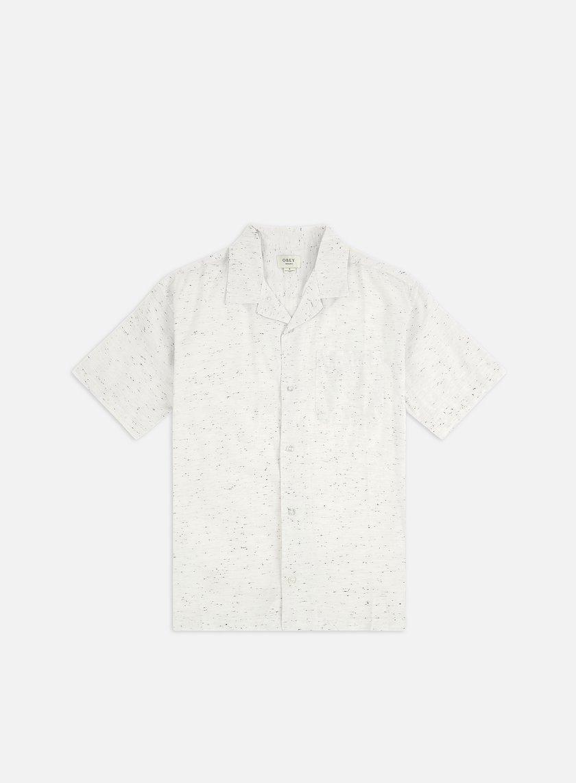 Obey Ideals Organic Nep Woven SS Shirt