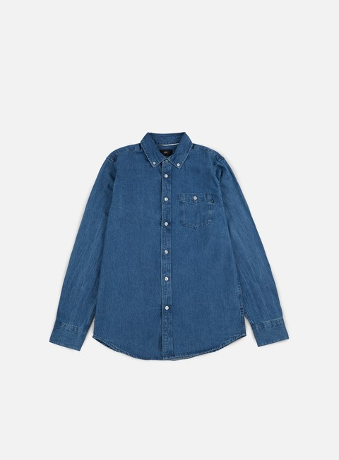Long Sleeve Shirts Obey Keble II LS Woven Shirt