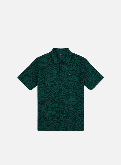 Sale Outlet Short Sleeve Shirts Obey Leo Woven SS Shirt