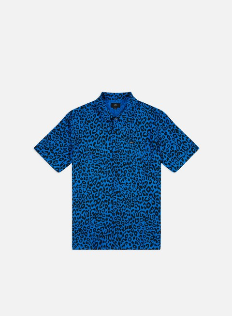 Outlet e Saldi Camicie a Manica Corta Obey Leo Woven SS Shirt