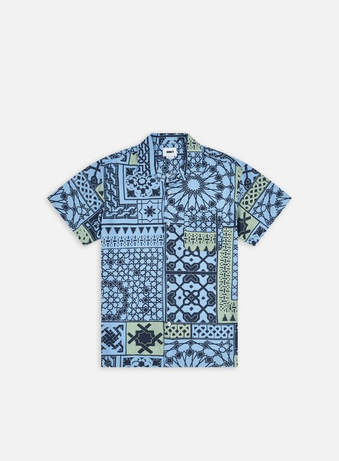 Camicie a Manica Corta Obey Pathos Woven SS Shirt