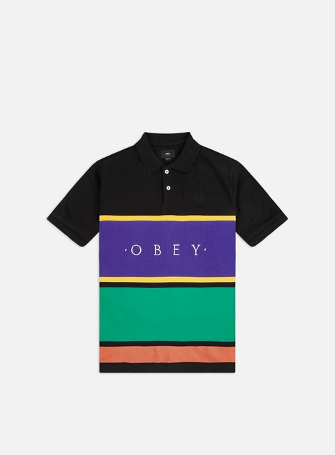 Camicie a Manica Corta Obey Pledge Polo Shirt