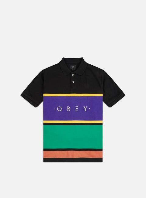 Camicie a Manica Corta Obey Pledge Polo Shirt