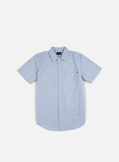 Sale Outlet Short Sleeve Shirts Obey Rose Addiction SS Woven Shirt