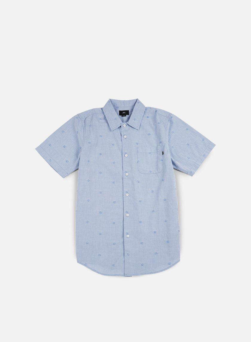 Obey - Rose Addiction SS Woven Shirt, Blue Multi