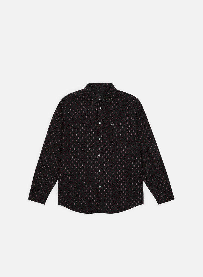 Obey Screw Woven LS Shirt