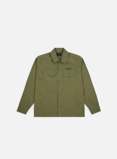 Obey - Station Shirt Jacket, Burnt Olive