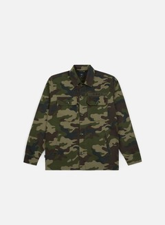 Obey - Station Shirt Jacket, Field Camo