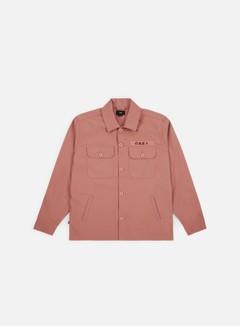Obey - Station Shirt Jacket, Rose