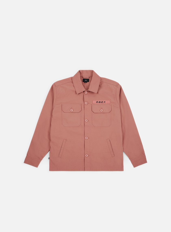 Obey Station Shirt Jacket