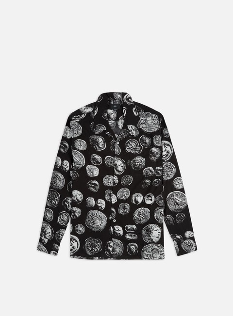 Outlet e Saldi Camicie a Manica Lunga Obey The Loot Woven LS Shirt
