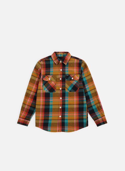 Long Sleeve Shirts Obey Trapper Woven Shirt