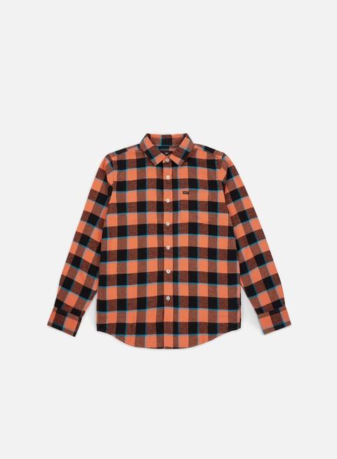 Camicie a Manica Lunga Obey Ventura Woven LS Shirt