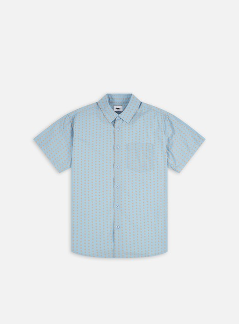 Camicie a Manica Corta Obey Vince Woven SS Shirt