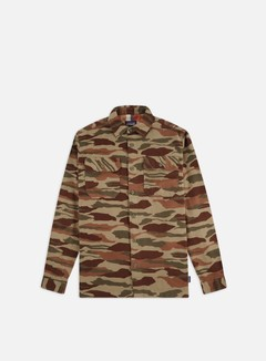Patagonia - Fjord Flannel LS Shirt, Bear Witness Camo/Sage Khaki