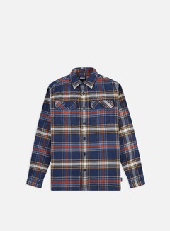 Patagonia - Fjord Flannel LS Shirt, Defender/New Navy