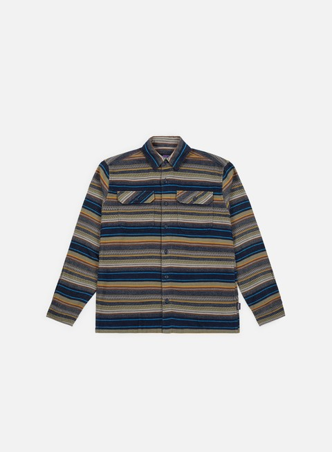 4f8c16afac45 PATAGONIA Fjord Flannel LS Shirt € 71 Camicie a Manica Lunga ...