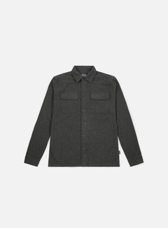 Patagonia - Fjord Flannel LS Shirt, Forge Grey
