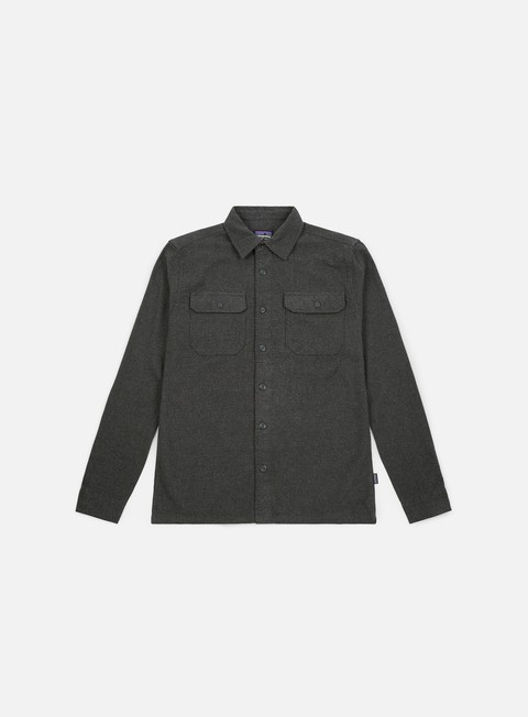 Camicie a Manica Lunga Patagonia Fjord Flannel LS Shirt