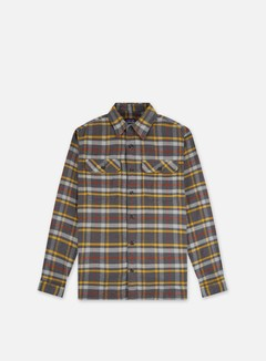 Patagonia - Fjord Flannel LS Shirt, Independence/Forge Grey