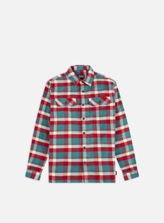 Patagonia - Fjord Flannel LS Shirt, Observer/Tasmanian Teal