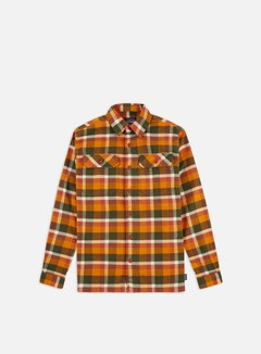 Patagonia - Fjord Flannel LS Shirt, Observer/Wren Gold