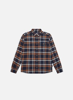 Patagonia - Fjord Flannel LS Shirt, Tom's Place/Navy Blue