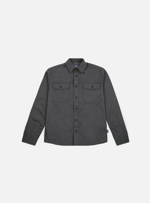 Sale Outlet Long Sleeve Shirts Patagonia Four Canyons Twill LS Shirt
