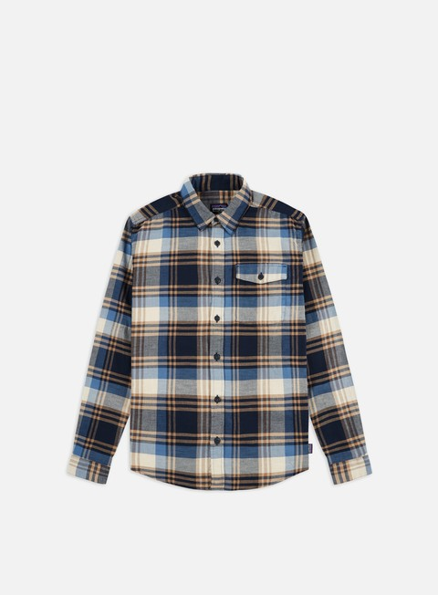 Long Sleeve Shirts Patagonia Lightweight Fjord Flannel LS Shirt