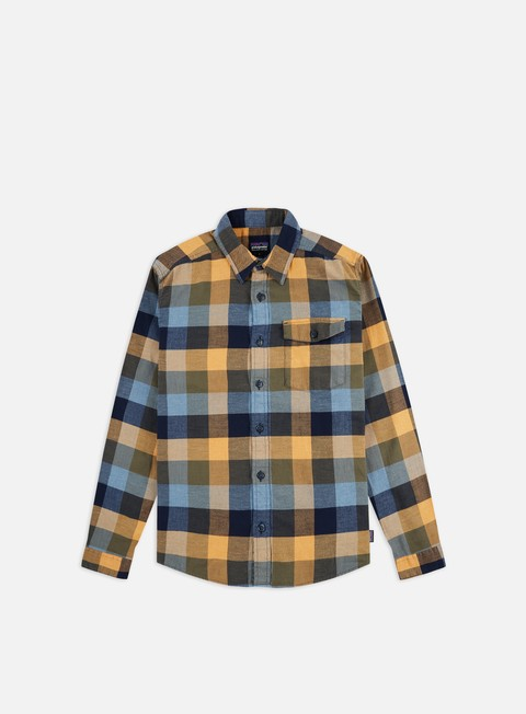 Camicie a Manica Lunga Patagonia Lightweight Fjord Flannel LS Shirt