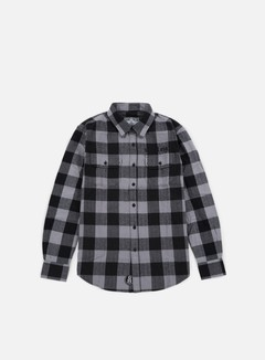 Rebel 8 - Bill Flannel Shirt, Grey