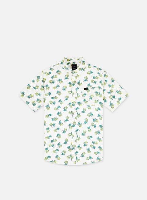 Short Sleeve Shirts Rvca ANP Dmote Reflections SS Shirt