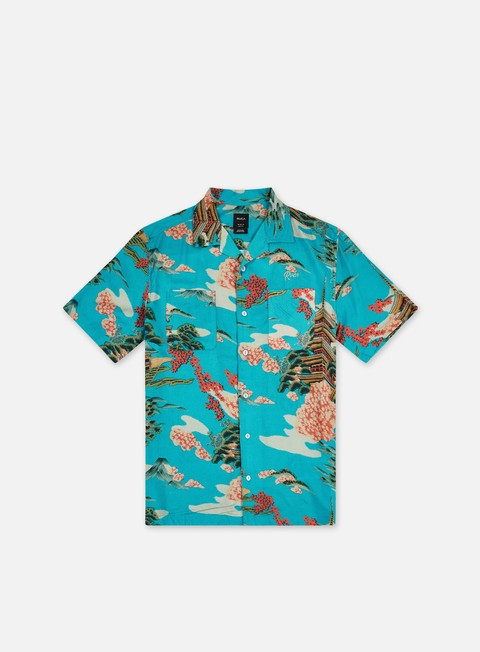Short Sleeve Shirts Rvca Kyuka SS Shirt