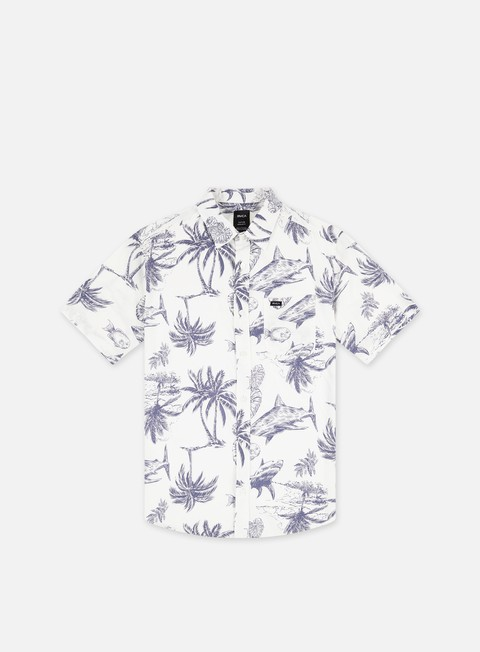 Short Sleeve Shirts Rvca Panic Point SS Shirt