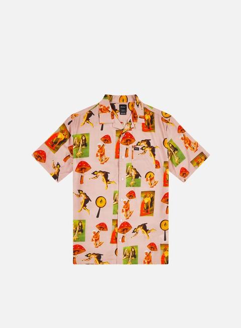 Short Sleeve Shirts Rvca Trippy Dana SS Shirt