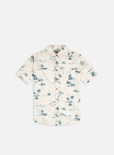 Camicie a Manica Corta Salty Crew Seafarer Woven SS Shirt