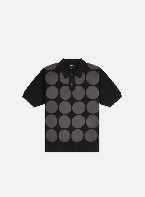 Stussy Circle Sweater Polo Shirt