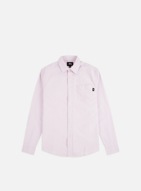 Long Sleeve Shirts Stussy Crazy Button Oxford Shirt
