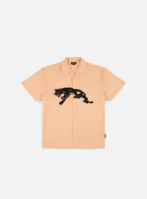 Sale Outlet Short Sleeve Shirts Stussy Panter SS Shirt