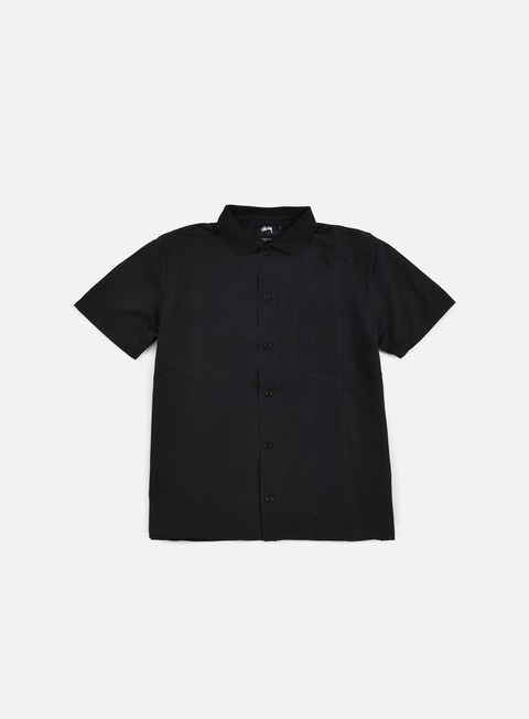 camicie stussy vacation shirt black