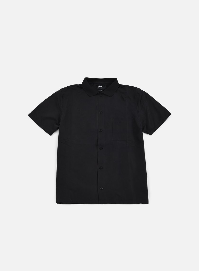 Stussy - Vacation Shirt, Black